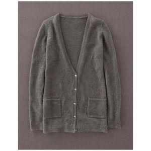 Boden mohair blend cardigan v neck  button up 12